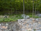 Weathercarrot's stone work at Blackburn Trail Center by StarLyte in Virginia & West Virginia Trail Towns