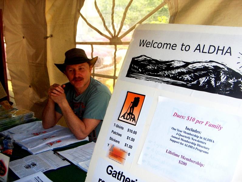Aldha At Trail Days 2008