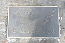 Springer Mountain Plaque by Track3307 in Section Hikers
