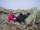 Kong, Frick, Frack, Noonin on Mt. Moosilauke by mountaineer in Thru - Hikers