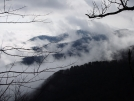 Smokys - view from Ice Water shelter by mountaineer in Views in North Carolina & Tennessee