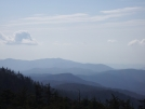 Smokys blue - view from Clingmans Dome by mountaineer in Views in North Carolina & Tennessee