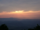 Sunset from Rice Field Shelter 1 by mountaineer in Views in Virginia & West Virginia