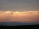 Sunset from Rice Field Shelter 2 by mountaineer in Views in Virginia & West Virginia