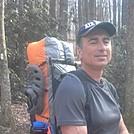 Hogdriver on his thru hike
