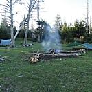 Campsite at Mt. Rogers