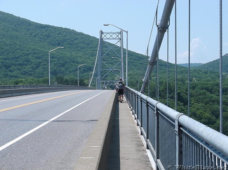 Crossing the Bear Mtn. Bridge