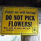 Roan Mt. Shelter sign by HolySmoke! in Trail & Blazes in North Carolina & Tennessee