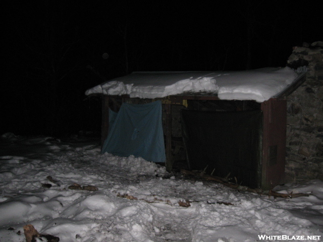 Nitetime @ Jerrys Cabin Shelter