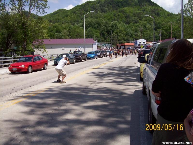 here comes the alumni, Trail Days '09