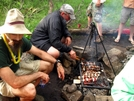 Hog Camp Gap Trail Magic by Ramble~On in Trail Angels and Providers