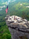 Chimney Rock S.P. -NC by Ramble~On in Views in North Carolina & Tennessee