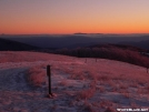 Max Patch Wintery Sunrise