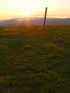 Max Patch Sunrise by Ramble~On in Trail & Blazes in North Carolina & Tennessee