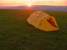 Mountain 25 On Max Patch by Ramble~On in Tent camping