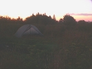 Dawn On Bob Bald by Ramble~On in Tent camping