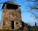Wayah Tower by Ramble~On in Trail & Blazes in North Carolina & Tennessee