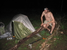 Peanut Butter Died! by Ramble~On in Tent camping