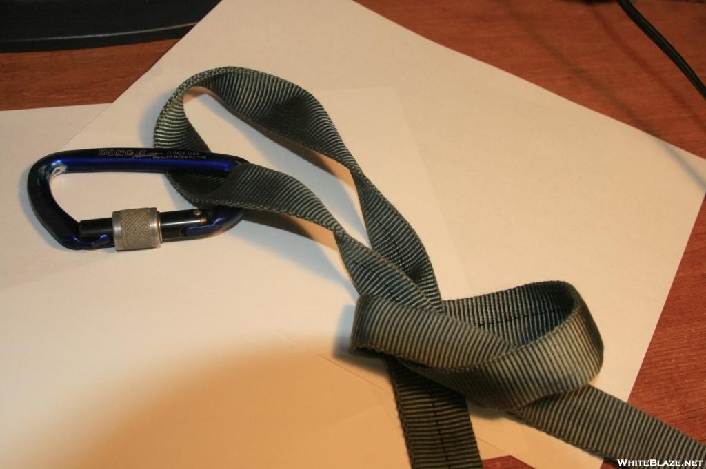 Diy hammock straps whiteblaze gallery for Diy hammock straps paracord