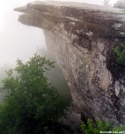 McAfee Knob in the clouds by Ramble~On in Views in Virginia & West Virginia
