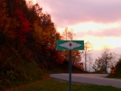 Stecoah Gap Sunset by Ramble~On in Trail & Blazes in North Carolina & Tennessee