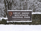 February 2006 Snow in Smokies by Ramble~On in Special Points of Interest