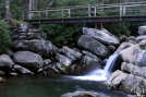 Foot bridge on Chimney Tops Trail, GSMNP by Ramble~On in Other Trails