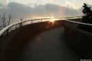 Sun Star on Clingman's Dome Tower