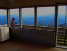 Rich Mountain Firetower by Ramble~On in North Carolina &Tennessee Trail Towns