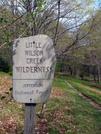Little Wilson Creek by Ramble~On in Sign Gallery