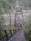 Toxaway River Bridge by Ramble~On in Other Trails