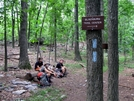 1000 Mile Mark by Ramble~On in Trail & Blazes in Virginia & West Virginia