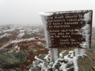 Frozen Sign by Ramble~On in Katahdin Gallery