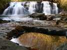 Middle Falls by Ramble~On in Views in North Carolina & Tennessee