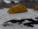 Wicked Winds And Mean Skies by Ramble~On in Tent camping