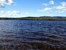 Septemberrrrrrrrrrr Swim by Ramble~On in Views in Maine