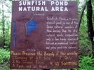 Sunfish Pond by Ramble~On in Trail & Blazes in New Jersey & New York