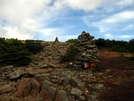 Cairns On Moosilauke by Ramble~On in Trail & Blazes in New Hampshire