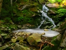 Waterfall On South Kinsman by Ramble~On in Trail & Blazes in New Hampshire