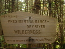 Presidential Range -dry River by Ramble~On in Sign Gallery