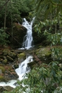 Mouse Creek Falls,GSMNP by Ramble~On in Other Trails
