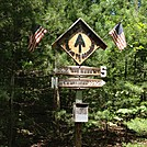 2011 AT Midpoint Sign by couscous in Trail & Blazes in Maryland & Pennsylvania