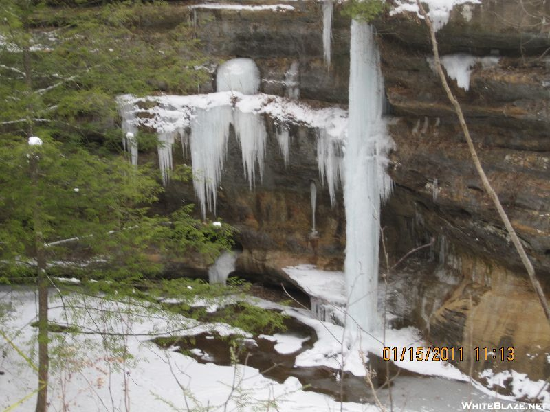 Hocking Hills Winter Hike - 2011