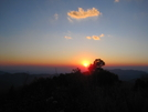 Siler Bald Sunset by B.B. in Views in North Carolina & Tennessee
