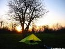 8 x 10\' Tarp on Mtn South of Manassas Gap, VA by astrogirl in Tent camping