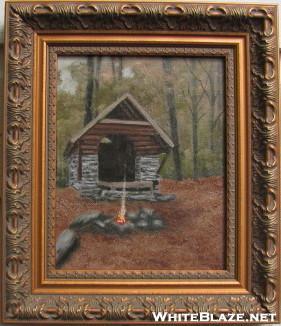 Oil Painting Of Windsor Vt Shelter