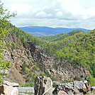 view from wautaga dam by hikerboy57 in Trail & Blazes in North Carolina & Tennessee