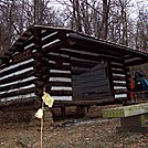 Manassas Gap Shelter Nov 2011 Front Royal to Harpers Ferry by Furlough in Trail & Blazes in Virginia & West Virginia