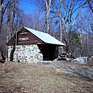 Pass Mtn Hut by Furlough in Virginia & West Virginia Shelters