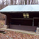 Rod Hollow Shelter Nov 2011 Front Royal to Harpers Ferry